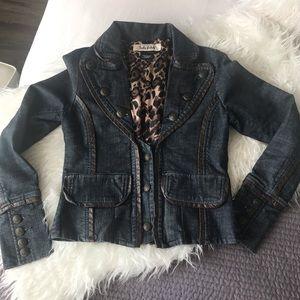 Lady Dutch jean jacket